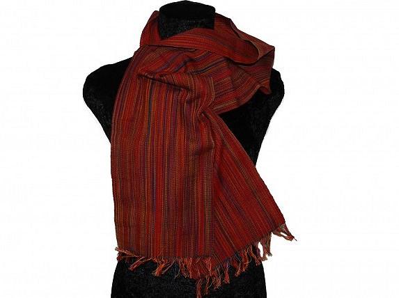 Weefpakket sjaal 0031 berlin 4 schachten rood