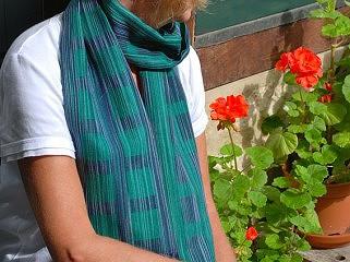 Weefpakket sjaal 0036 hamar midi 4 schachten groen