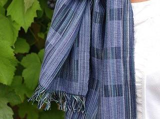 Weefpakket sjaal 0036 hamar midi 4 schachten lila