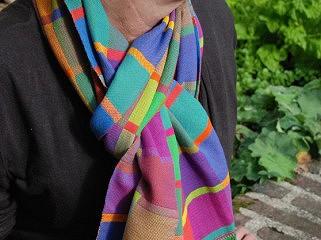BIO Weefpakket sjaal nr. 0017 aspen 4 schachten 2 stuks