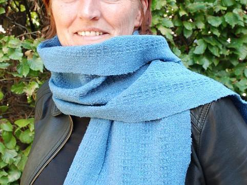 Weefpakket sjaal 0003 Eco Jeans recycled 4 schachten