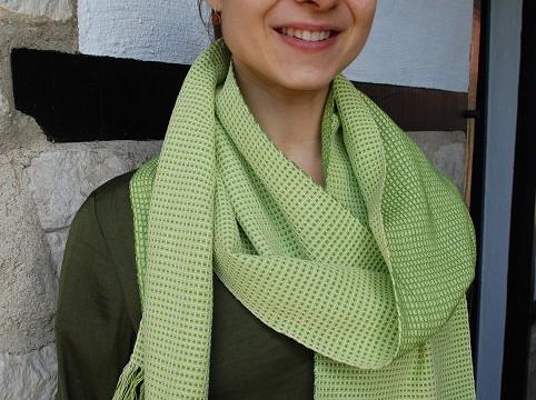 BIO Weefpakket sjaal 0009 Andes 4 schachten 2 stuks