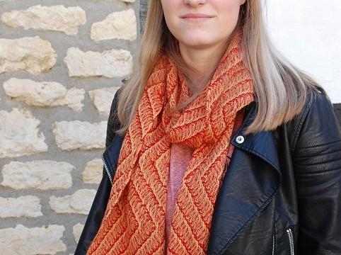 BIO Weefpakket sjaal 0006 Russia 8 schachten 2 stuks geel/rood